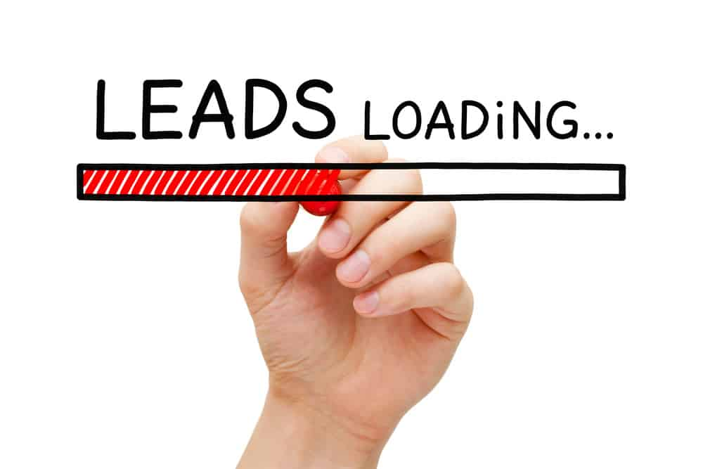 image explaining how to use a lead magnet template effectively to create a better lead list