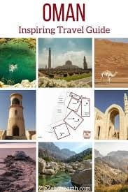 email list option: a travel guide ebook of Oman