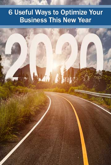 optimize your business - a road path to 2020