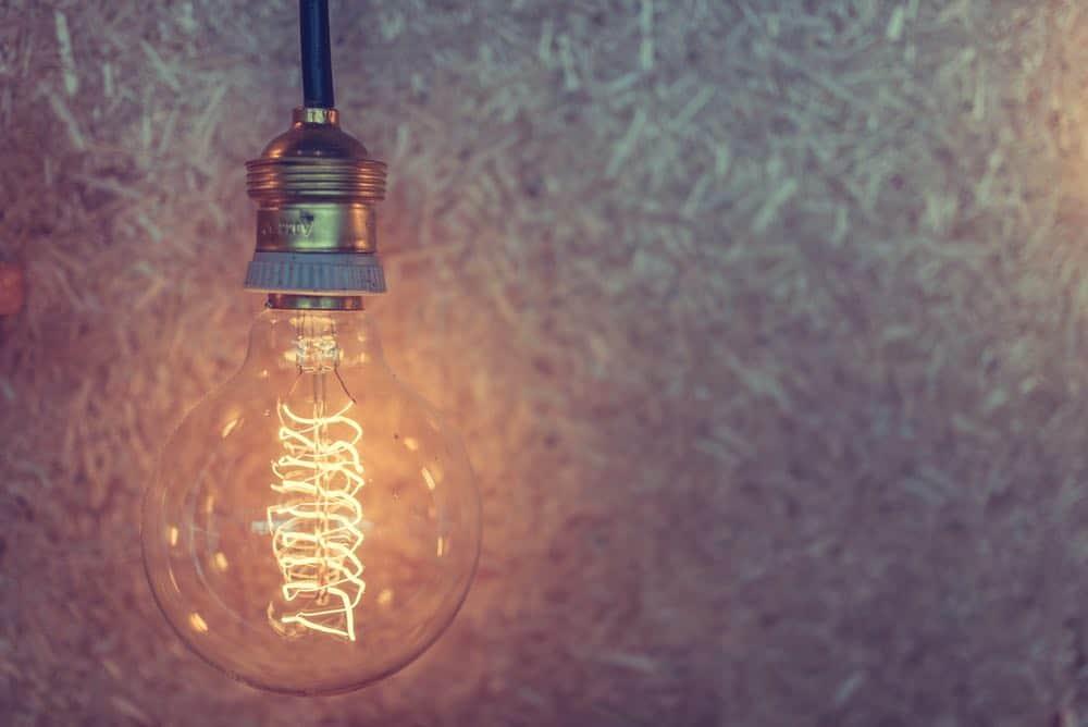 blog and social media topics - ideas are the lightbulb